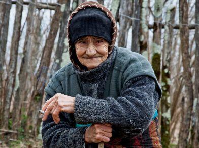 Georgian Grandmother Photo by Giorgi Nikolava